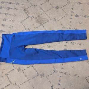 NWOT blue athleta thermal leggings